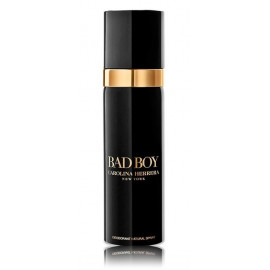 Carolina Herrera Bad Boy purškiamas dezodorantas vyrams 150 ml.