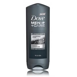 Dove Men+Care Charcoal & Clay dušo gelis vyrams 250 ml.