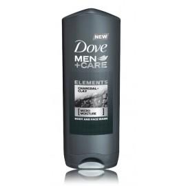 Dove Men+Care Charcoal & Clay dušo gelis vyrams 400 ml.
