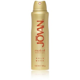 Jovan Gold Musk Oil purškiamas dezodorantas moterims 150 ml.