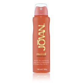 Jovan Musk Oil purškiamas dezodorantas moterims 150 ml.