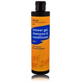 Kili·G Man 3in1 dušo gelis, šampūnas ir kondicionierius vyrams 250 ml.
