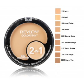 Revlon Colorstay 2in1 makiažo pagrindas ir maskuoklis 12 g.
