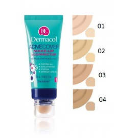 Dermacol Acnecover Make-Up & Corrector makiažo pagrindas 30 ml.