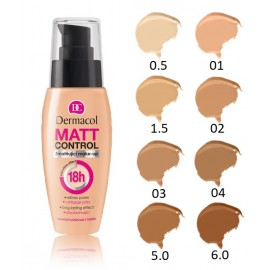 Dermacol Matt Control makiažo pagrindas 30 ml.