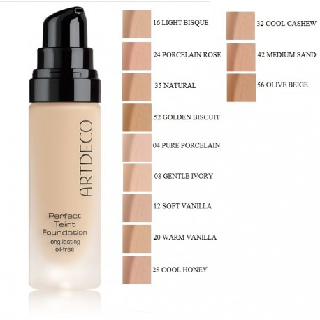 Artdeco Perfect Teint Foundation makiažo pagrindas 20 ml.