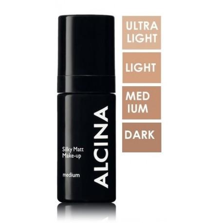 Alcina Silky Matt Make-up makiažo pagrindas 30 ml.