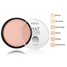 ASTOR Mattitude Anti Shine matizuojanti kompaktinė pudra 14 g.