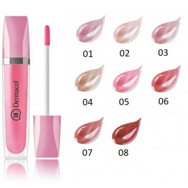 Dermacol Shimmering Lip Gloss spindesio suteikiantis lūpų blizgesys 8 ml.