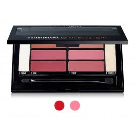 Maybelline Color Drama Lip Contour Palette lūpų dažų paletė