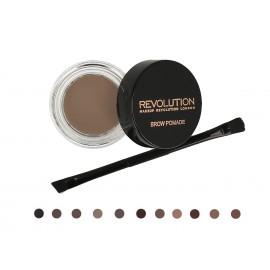Makeup Revolution Brow Pomade priemonė antakiams su šepetėliu 2.5 g.