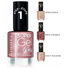 Rimmel Super Gel Nail Polish by Kate 15th Anniversary nagų lakas