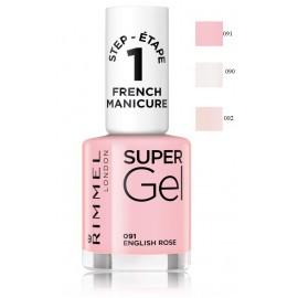 Rimmel Super Gel French Manicure Nail Polish nagų lakas