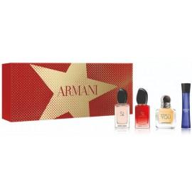Armani miniatiūrų rinkinys moterims VII ( 4 x 7 ml. EDP)