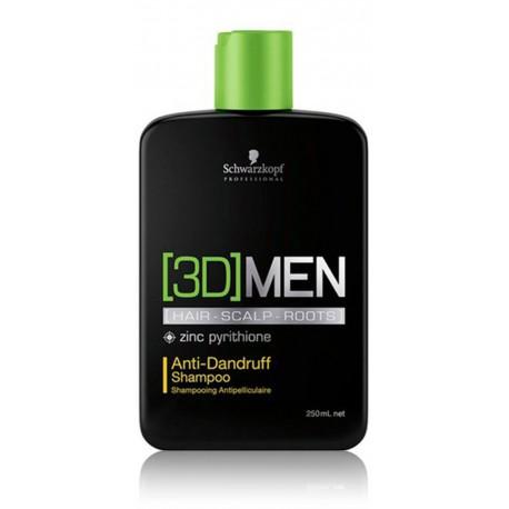 Schwarzkopf Professional 3D Mension šampūnas nuo pleiskanų vyrams