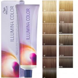 Wella Professionals Illumina profesionalūs plaukų dažai 60 ml.