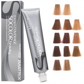 Matrix SoColor Extra Coverage profesionalūs ilgalaikiai plaukų dažai 90 ml.