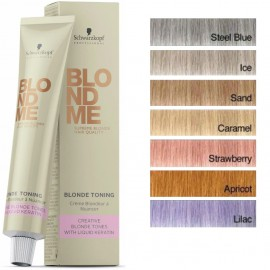 Schwarzkopf Professional BlondMe Toning profesionalūs plaukų dažai 60 ml.