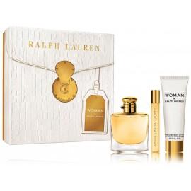 Ralph Lauren Woman rinkinys moterims (50 ml. EDP + 10 ml. EDP + 75 ml. kūno losjonas)