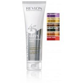 Revlon Professional Revlonissimo 2in1 šampūnas-balzamas dažytiems plaukams 275 ml.