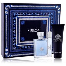 Versace pour Homme rinkinys vyrams (100 ml. EDT + 10 ml. EDT + 150 ml. dušo gelis)