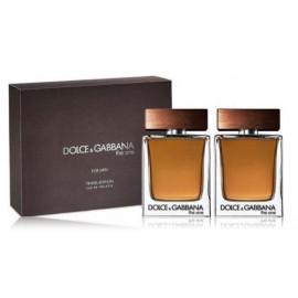 Dolce & Gabbana The One For Men rinkinys vyrams (2 x 50 ml. EDT)