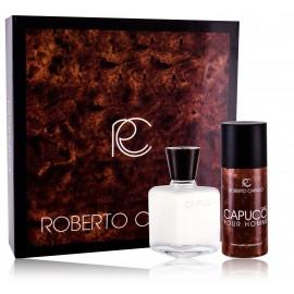 Roberto Capucci Capucci Pour Homme rinkinys vyrams (100 ml. losjonas po skutimosi + 120 ml. purškiamas dezodorantas)