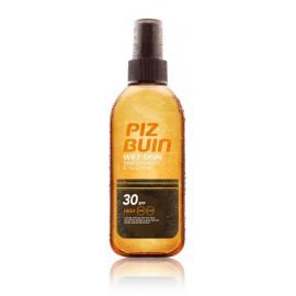 Piz Buin Wet Skin Transparent Sun Spray SPF30 ant drėgnos odos purškiama apsauginė priemonė 150 ml.