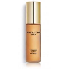 Makeup Revolution Goddess Glow Primer švytėjimo suteikianti makiažo bazė 30 ml.