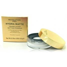 Makeup Revolution Hydra-Matte PRO Translucent fiksuojamoji pudra 5,5 g.