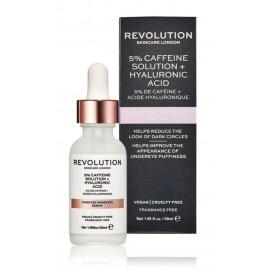 Makeup Revolution Targeted Under Eye Serum paakių serumas su kofeinu 30 ml.