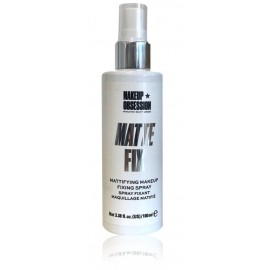 Makeup Revolution Matte Fix makiažo fiksavimo priemonė riebiai odai 100 ml.