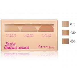 Rimmel Insta Concealer & Contour maskavimo ir veido kontūravimo paletė