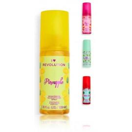 Makeup Revolution Dewy Makeup Fixing Spray makiažo fiksavimo priemonė 100 ml.