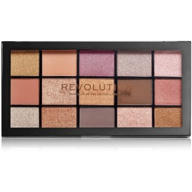 Makeup Revolution Re-loaded Fundamental akių šėšėlių paletė 16 g.