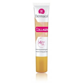 Dermacol Collagen + Intensive Rejuvenating atkuriamasis veido serumas 12 ml.