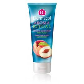 Dermacol Aroma Ritual White Peach rankų kremas 100 ml.