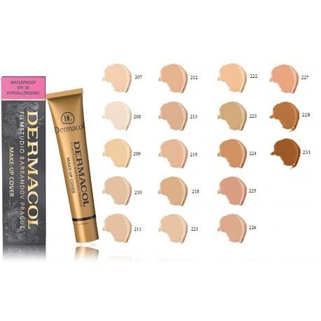 Dermacol Make-Up Cover stipraus maskavimo makiažo pagrindas
