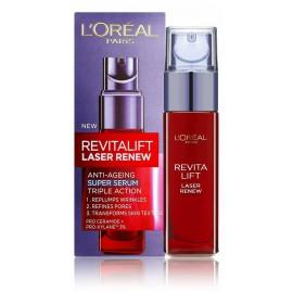 Loreal RevitaLift Rejuvenating Serum Laser X3 serumas brandžiai odai 30 ml.