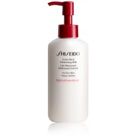 Shiseido Extra Rich Cleansing Milk valomasis pienelis sausai odai 125 ml.