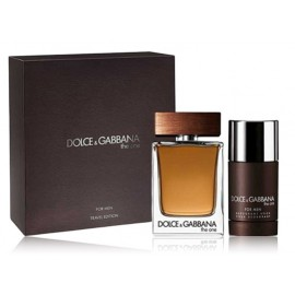 Dolce & Gabbana The One For Men rinkinys vyrams (100 ml. EDT + 75 ml. pieštukinis dezodorantas)