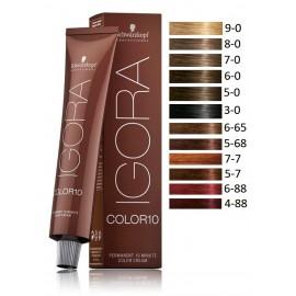 Schwarzkopf Professional IGORA Color10 profesionalūs plaukų dažai 60 ml.