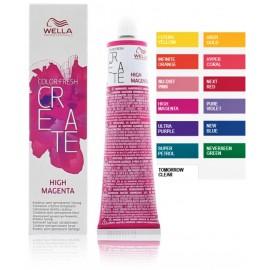 Wella Professionals Color Fresh Create pusiau ilgalaikiai profesionalūs plaukų dažai 60 ml.