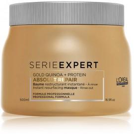 Loreal Professionnel Serie Expert Absolut Repair Gold Quinoa + Protein Instant Mask atkuriamoji kaukė plaukams