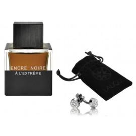 Lalique Encre Noire A L´Extreme rinkinys vyrams (50 ml. EDP + sąsagos)