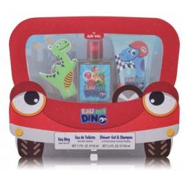 Disney Eau My Dino rinkinys berniukams (50 ml. EDT + 100 ml. dušo gelis + raktų pakabukas)