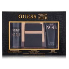 Guess Seductive Homme Noir rinkinys vyrams (100 ml. EDT + 200 ml. dušo gelis + 226 ml. purškiamas dezodorantas)