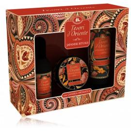 Tesori D Oriente Japanese Rituals rinkinys moterims (100 ml. EDT + 250 ml. dušo kremas + žvakė)