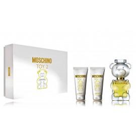 Moschino Toy 2 rinkinys moterims (50 ml. EDP + dušo gelis 50 ml. + kūno losjonas 50 ml.)